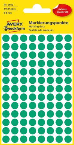 Avery Zweckform Markierungspunkt 8mm gelb