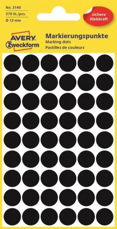 Avery Zweckform Markierungspunkt 12mm leuchtgrün