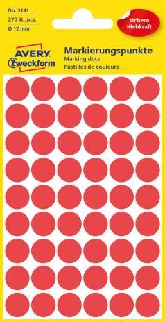 Avery Zweckform Markierungspunkt 12mm blau