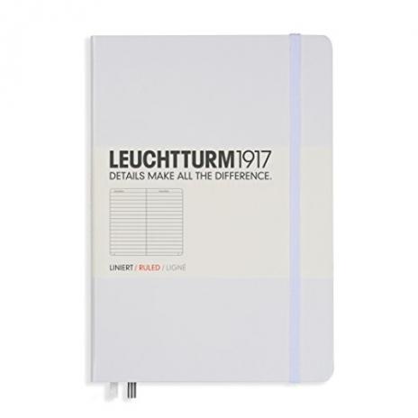 Leuchtturm Notizbuch Medium A5 weiß, liniert