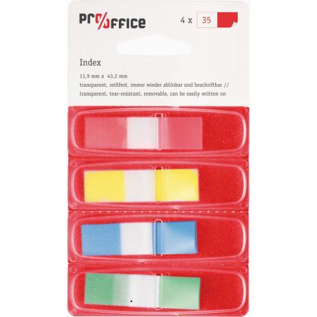Pro/Office Haftstreifen Index-Mini