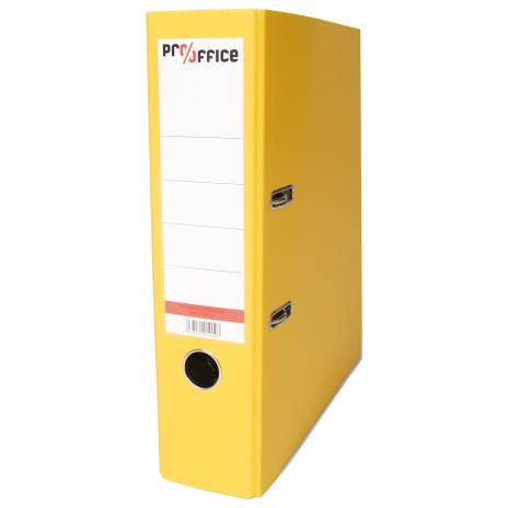 Pro/Office Ordner 80 mm Plastik gelb