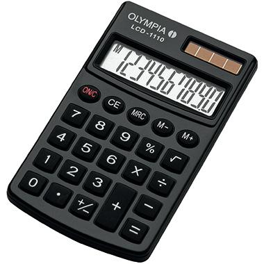 Olympia taschenrechner schwarz g nstig online bestellen for Design tisch taschenrechner