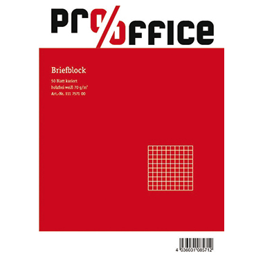 Pro/Office Briefblock A5 blanko