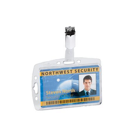 DURABLE Ausweishalter mit Security Clip