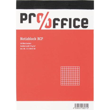 Pro/Office Notizblock Recycling DIN A6