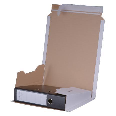 smartboxpro Ordnerversandkarton für 1 Ordner braun