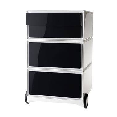 easybox Rollcontainer Modell B anthrazit, grau