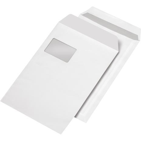 Lemppenau + Rössler-Kuvert Versandtasche DIN C4 SK weiß ohne Fenster