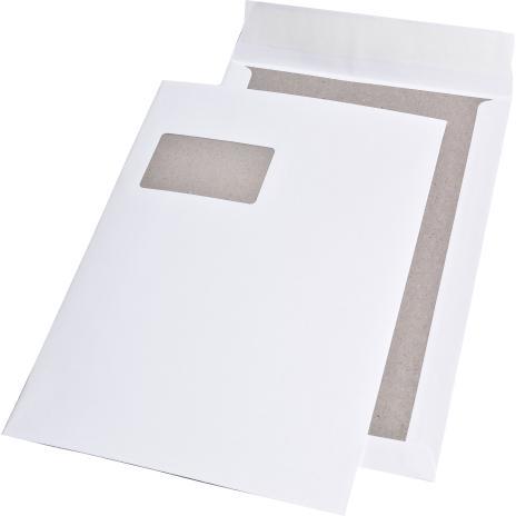 Lemppenau + Rössler-Kuvert Papprückwandtasche DIN C4