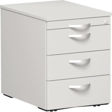 Geramöbel Rollcontainer Flex 4 Schübe weiß