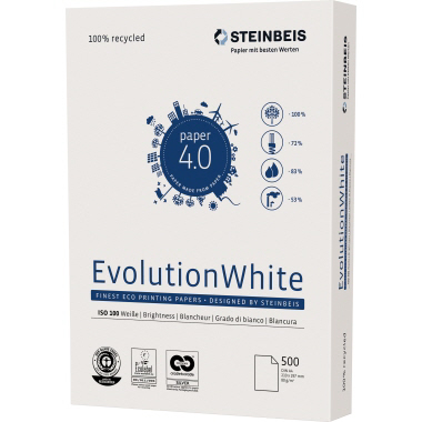 Steinbeis Multifunktionspapier Evolution White