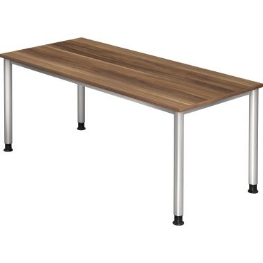 Hammerbacher Schreibtisch silber