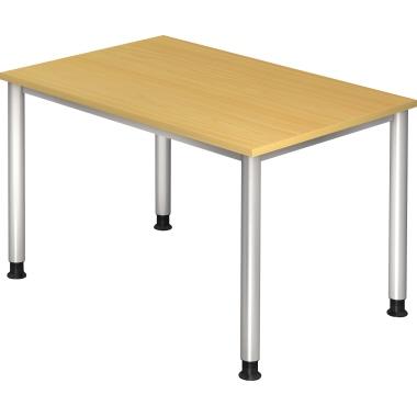 Hammerbacher Schreibtisch 120 cm breit ahorn