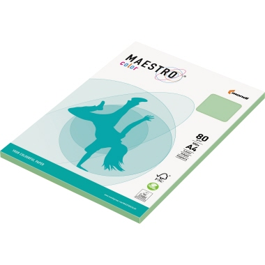 MAESTRO® Kopierpapier Color Pastell DIN A4 mittelgrün