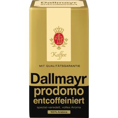 Dallmayr Kaffee prodomo gemahlen