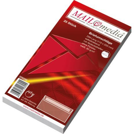 Lemppenau + Rössler-Kuvert Briefumschlag DIN lang HKL Innendruck ohne Fenster