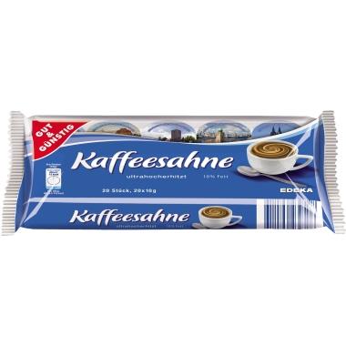 Kaffeesahne in Tassenportionen 20 x 10 g