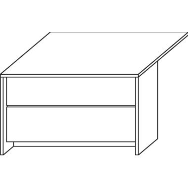 Haupttheke 1.200 x 735 x 780 mm ahorn