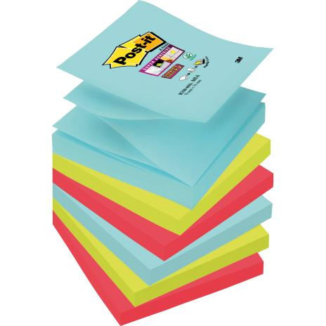 Post-it® Haftnotiz Super Sticky Z-Notes Miami Collection