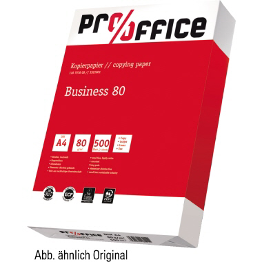 Pro/Office Kopierpapier Business DIN A4 80g/m²