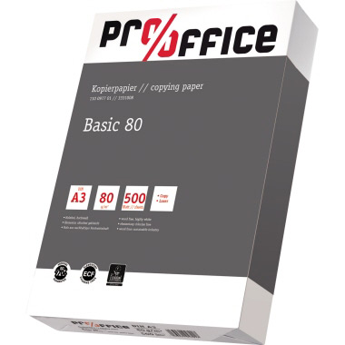 Pro/office Kopierpapier Basic DIN A3
