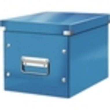 Leitz Archivbox Click & Store Cube 26 x 24 x 26 cm ohne Archivdruck blau