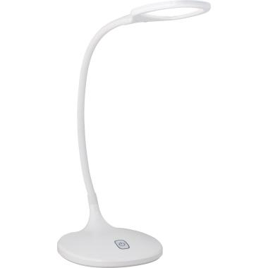 Action Tischleuchte YAVA LED dimmbar weiß