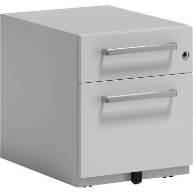 Bisley Rollcontainer Note™ 42 x 49,5 x 56,5 cm 1 Schubfach silber
