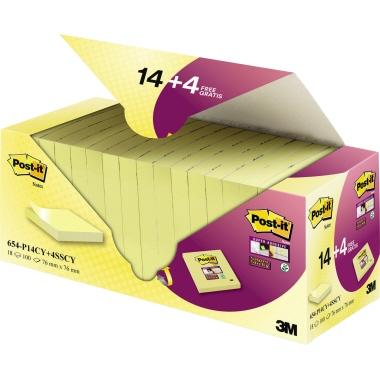 Post-it® Haftnotiz Notes Set mit SuperSticky Notes