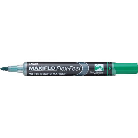 Pentel Whiteboardmarker Maxiflo Flex-Feel rot