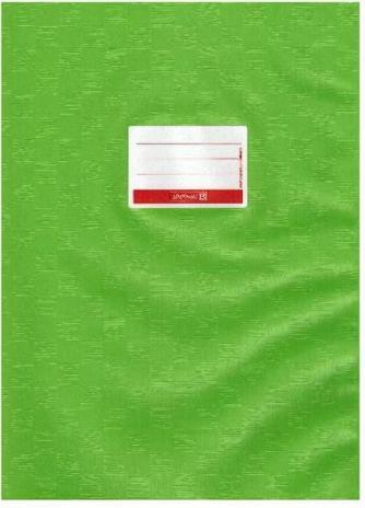 BRUNNEN Heftumschlag A4 mit Namensschild hellblau