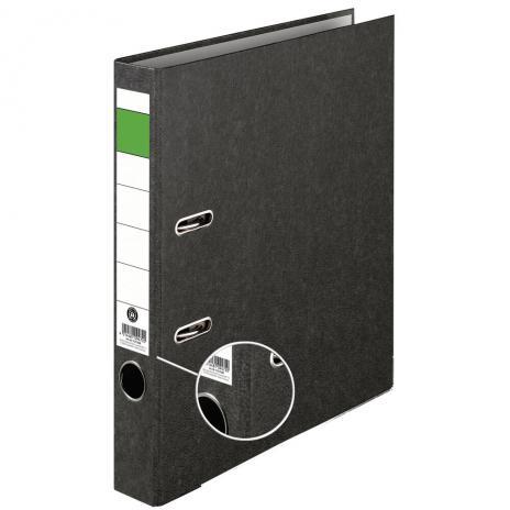 Ordner Grüner Balken Pappe, DIN A4, 50mm, schmal