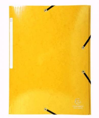 Brause Sammelmappe DIN A4 mit Gummizug orange