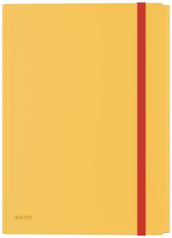 Leitz Sammelmappe Cosy A4 PP mit 3 Klappen gelb