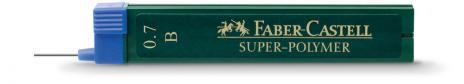 Faber-Castell Feinmine SUPER POLYMER B 0,7 mm