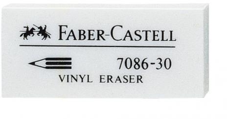 Faber-Castell Radierer Vinyl Eraser 7086-30