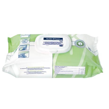 Bacillol® Schnell-Desinfektionstücher 30 Tissues 80 Tücher