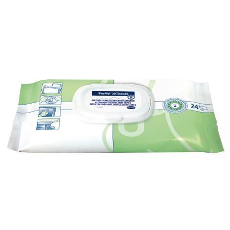 Bacillol® Schnell-Desinfektionstücher 30 Tissues 24 Tücher