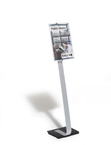 DURABLE Sichttafelständer CRYSTAL SIGN DIN A3