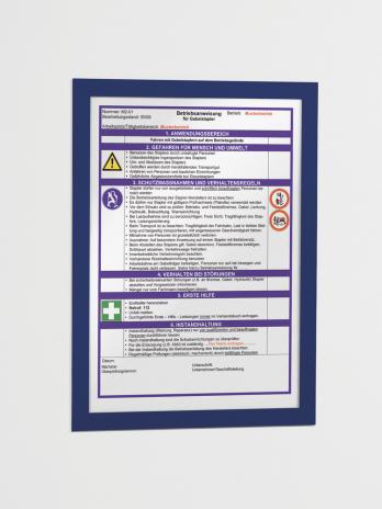 DURABLE Magnetrahmen DURAFRAME® DIN A4 silber