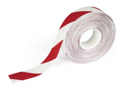 DURABLE Markierungsband DURALINE STRONG COLOUR rot/weiß