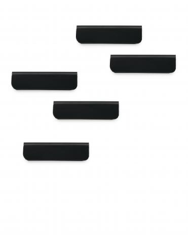 DURABLE Magnetleiste DURAFIX® CLIP 5 St./Pck. silber