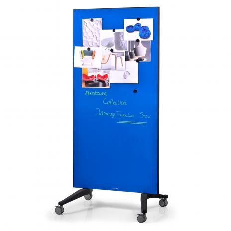 Legamaster Glasboard blau
