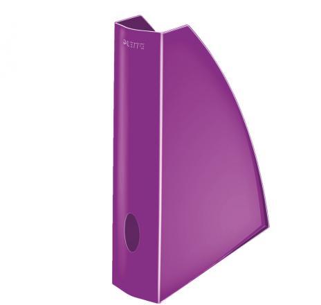 Leitz Stehsammler WOW Metallic Kunststoff für DIN A4 blau, metallic