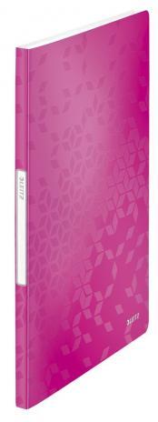 Leitz Sichtbuch WOW 20 Hüllen violett