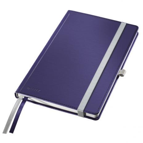 Leitz Notizbuch Style DIN A5 kariert Hardcovereinband satin schwarz