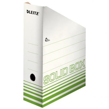 Leitz Stehsammler Solid weiß, hellgrün