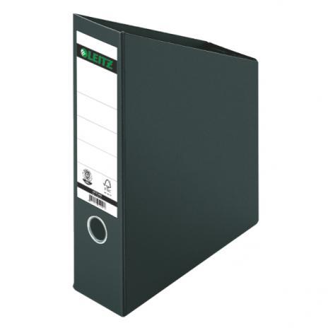 Leitz Stehsammler Hartpappe für DIN A4, 80mm Rückenbreite schwarz