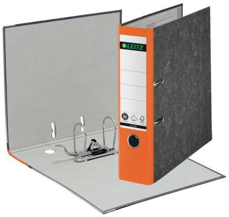 Leitz Ordner DIN A4, 80 mm breit in Hartpappe rot